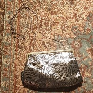 Vintage Gold and Black Purse